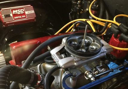 MSD efi conversion on a Chevy 350 in a 1971 Chevelle.